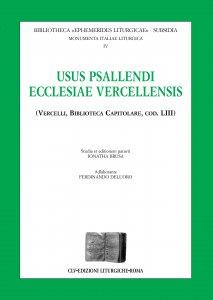 Copertina di 'Usus psallendi ecclesiae vercellensis (Vercelli, biblioteca Capitolare, cod. 53)'