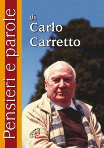 Copertina di 'Pensieri e parole di Carlo Carretto'
