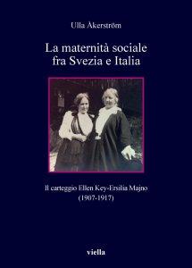 Copertina di 'La maternità sociale fra Svezia e Italia'