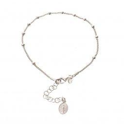 Copertina di 'Bracciale decina in argento 925 con Medaglia Miracolosa - grani tondi 2 mm'