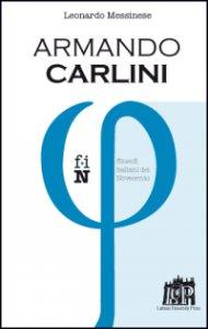 Copertina di 'Armando Carlini'