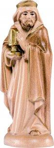 Copertina di 'Re Baldassarre B.K. - Demetz - Deur - Statua in legno dipinta a mano. Altezza pari a 12 cm.'