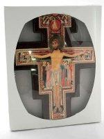 Immagine di 'Croce di San Damiano in legno - dimensioni 28x19 cm'