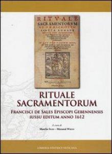 Copertina di 'Rituale Sacramentorum'