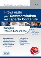 Prova orale per Commercialista ed Esperto Contabile - Angelo Battagli, Ciro Iacone