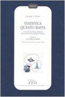Statistica quanto basta. Una scatola degli attrezzi per gli studi economici e sociali vol.2 - Giuseppe A. Micheli
