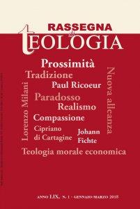 Rassegna di Teologia 2018 - n. 1