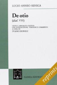 Copertina di 'De otio'