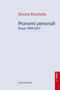 Copertina di 'Pronomi personali'