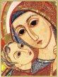 Quadro stampa cm 10,6x14,5 - Volto Madonna di Padre Rupnik