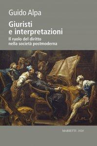 Copertina di 'Giuristi e interpretazioni'