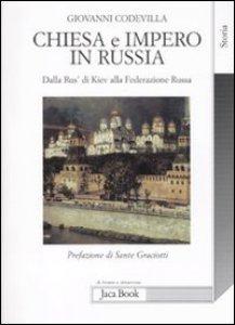 Copertina di 'Chiesa e impero in Russia'