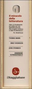 Copertina di 'Il miracolo della letteratura: Ogni cosa è da lei illuminata-I nomadi-Lettere d'amore-La gioia maiuscola di essere scrittori. Lettere a italiani'