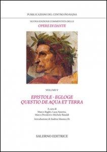 Copertina di 'Nuova edizione commentata delle opere di Dante'