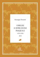 Omelie e istruzioni pasquali 1975-1978 - Giuseppe Dossetti