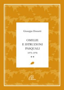 Copertina di 'Omelie e istruzioni pasquali 1975-1978'