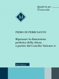 Copertina di 'Ripensare la dimensione profetica della Chiesa a partire dal Concilio Vaticano II.'