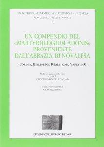 """Copertina di 'Compendio del """"Martyrologium Adonis"""" proveniente dall'Abbazia di Novalesa'"""