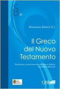 Copertina di 'Il greco nel Nuovo Testamento'