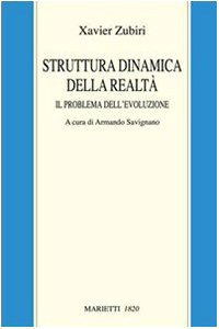 Copertina di 'Struttura dinamica della realtà. Il problema dell'evoluzione'