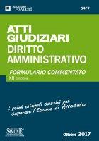 Atti Giudiziari Diritto Amministrativo - Redazioni Edizioni Simone
