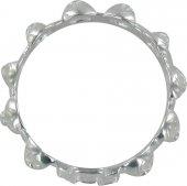 Immagine di 'Rosario anello in argento 925 con 10 roselline misura italiana n°13 - diametro interno mm 17 circa'