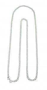 Copertina di 'Catena grumetta in argento 925 cm 60'