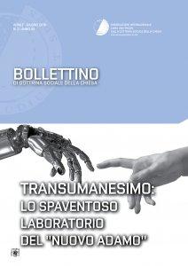 """Copertina di 'Transumanesimo: lo spaventoso laboratorio del """"nuovo Adamo"""".'"""