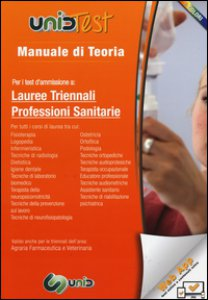 Copertina di 'Manuale di teoria per i test d'ammissione a lauree triennali professioni sanitarie. Con aggiornamento online'