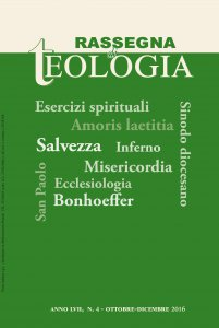 Copertina di 'Rassegna di Teologia n. 4/2016'