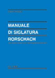 Copertina di 'Manuale di siglatura Rorschach'
