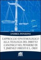 L'approccio epistemologico alla teologia del diritto canonico nel pensiero di T. Jiménez Urresti e L. Örsy. - Ponzone Andrea