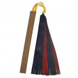 Copertina di 'Segnalibro 6 nistole in pelle e una in cuoio per messale o lezionario - dimensioni 25x2,5 cm'