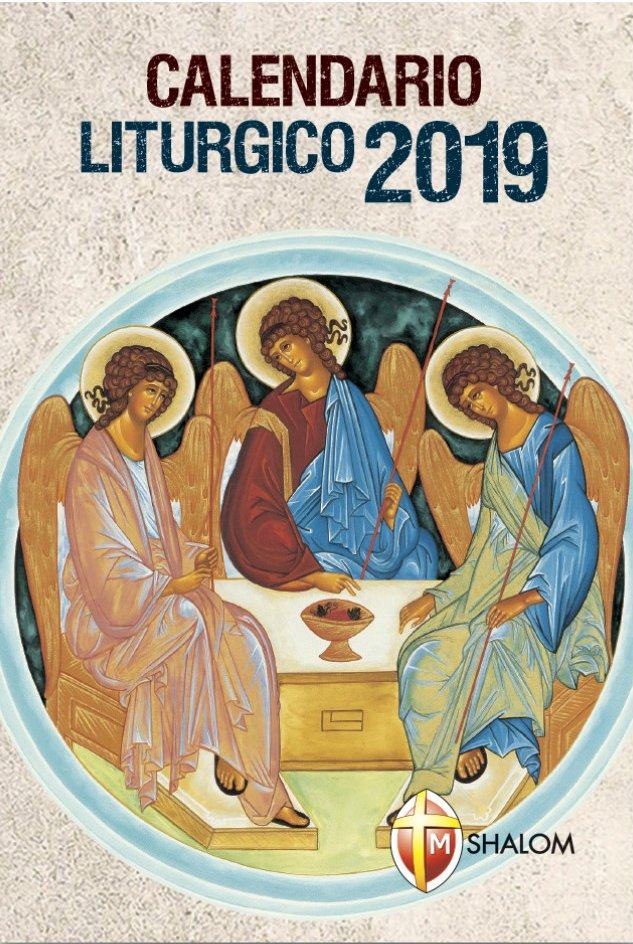 Calendario Cattolico.Calendario Liturgico 2019 Libro Shalom Giugno 2018 Anno