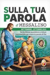Copertina di 'Sulla tua parola. Messalino. Settembre-ottobre 2021'