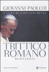 Copertina di 'Trittico Romano. Meditazioni. Testo polacco a fronte. Con DVD'