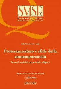 Copertina di 'Protestantesimo e sfide della contemporaneità'