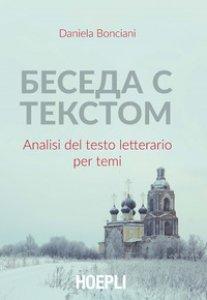 Copertina di 'Beseda s tekstom. Analisi del testo letterario per temi'