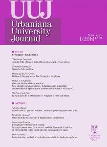 Copertina di 'Urbaniana University Journal 2019 - 1'