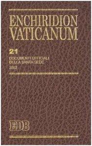 Copertina di 'Enchiridion Vaticanum. 21'