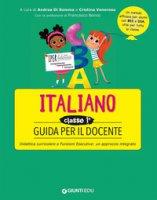 Guida per il docente. Italiano classe prima
