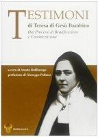 Testimoni di Teresa di Gesù Bambino. Dai processi di beatificazione e canonizzazione - Amata Ruffinengo