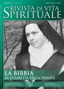 Copertina di 'Elisabetta della Trinità e la Bibbia'