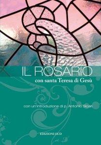 Copertina di 'Il rosario con santa Teresa di Gesù'