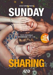 Copertina di 'Sunday sharing. Testo personale giovanissimi 2021-2022'