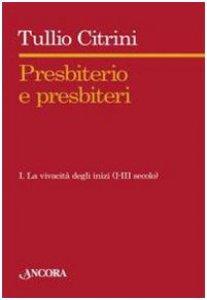 Copertina di 'Presbiterio e presbìteri'