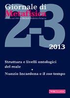 Giornale di metafisica. 2-3/2013: Struttura e livelli ontologici del reale