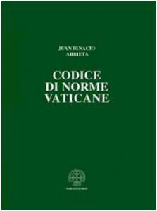 Copertina di 'Codice di norme vaticane. Ordinamento  giuridico dello Stato della Città del Vaticano'