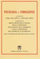 Psicologia e Formazione - Congregazione per l'Educazione Cattolica