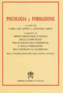 Copertina di 'Psicologia e Formazione'